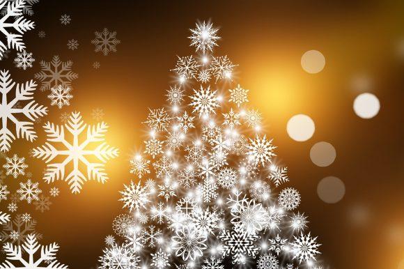Cadeaubox onder de kerstboom