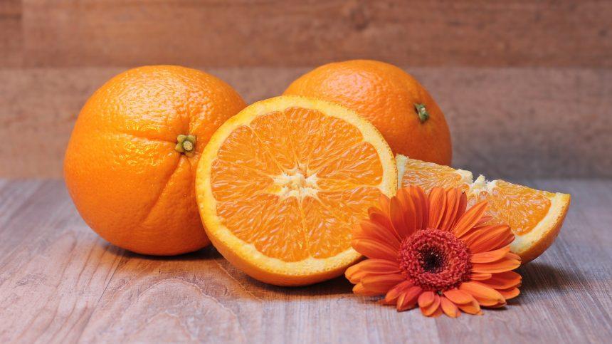 Wellness arrangement Sweet Orange